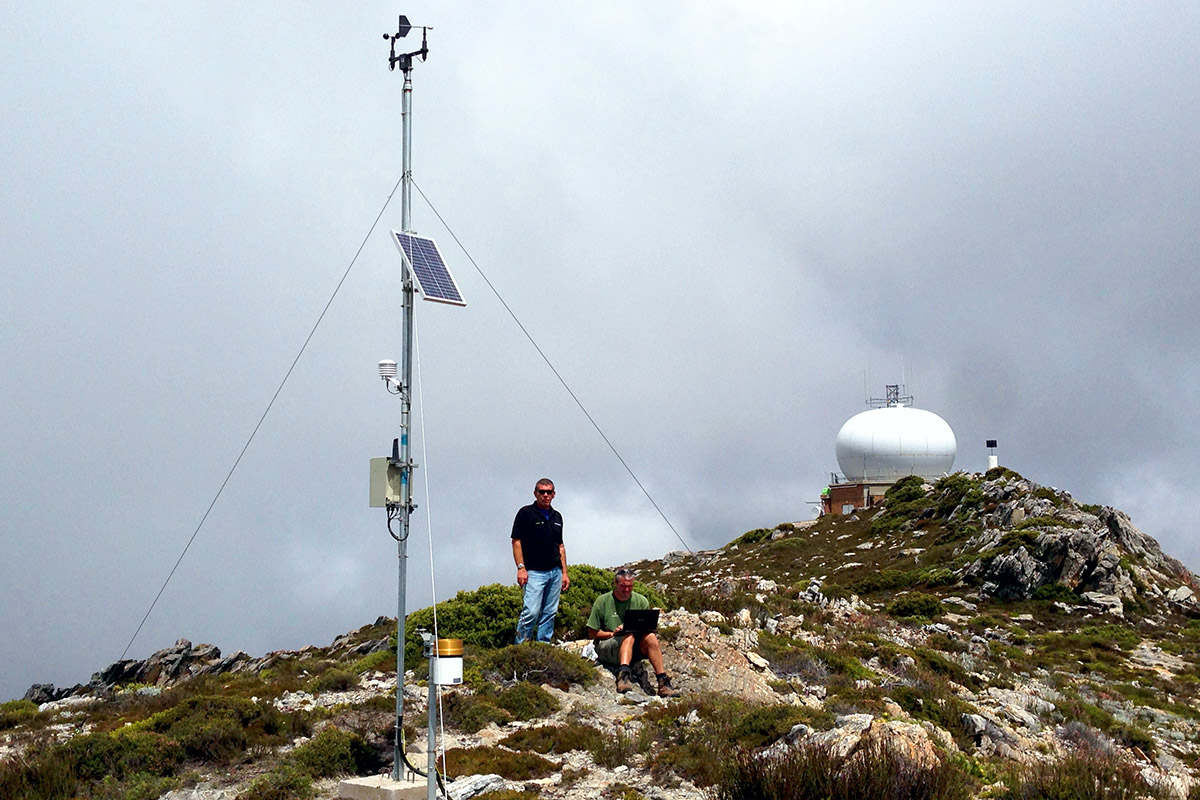 InterMet Automatic Weather Station Mountain top