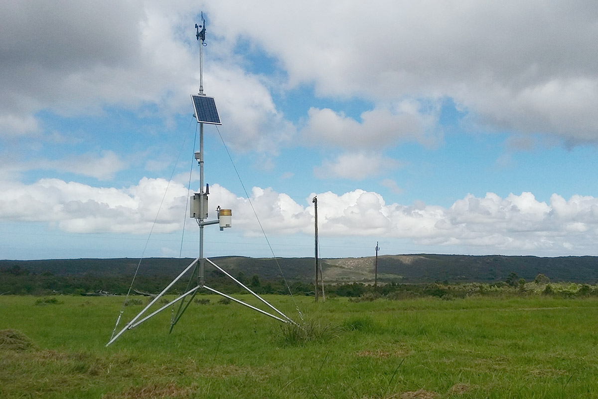 InterMet Automatic Weather Station in open field