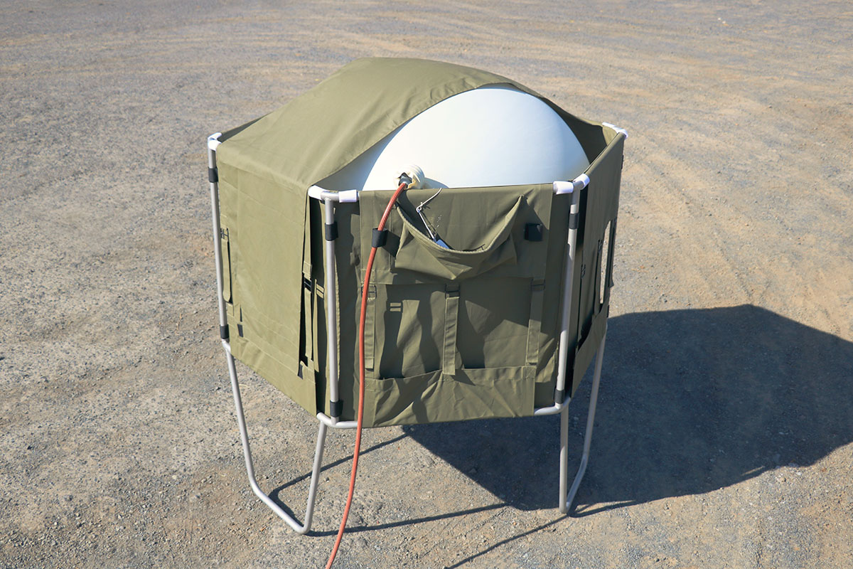 Balloon Inflation Shelter