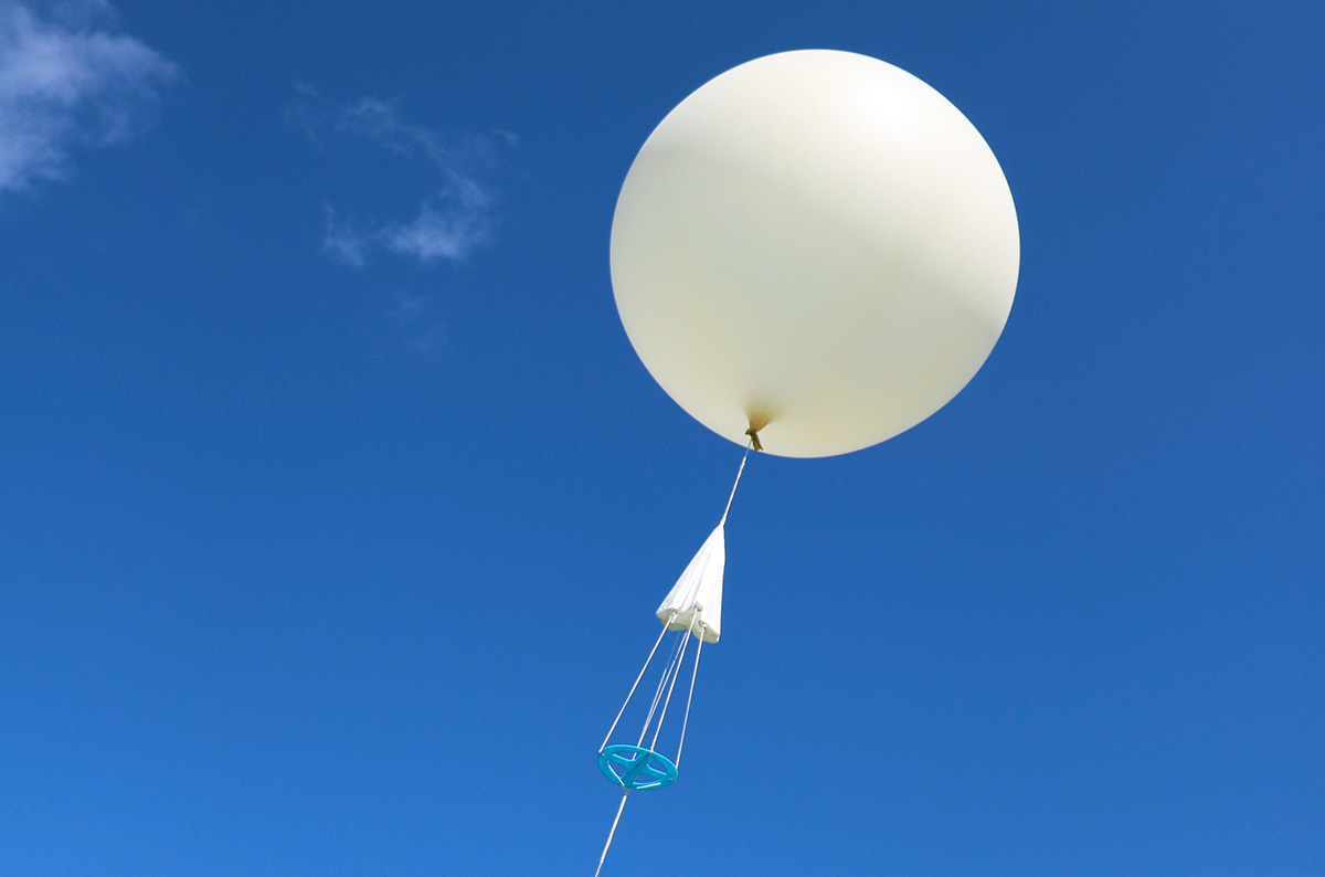 Radiosonde Parachute